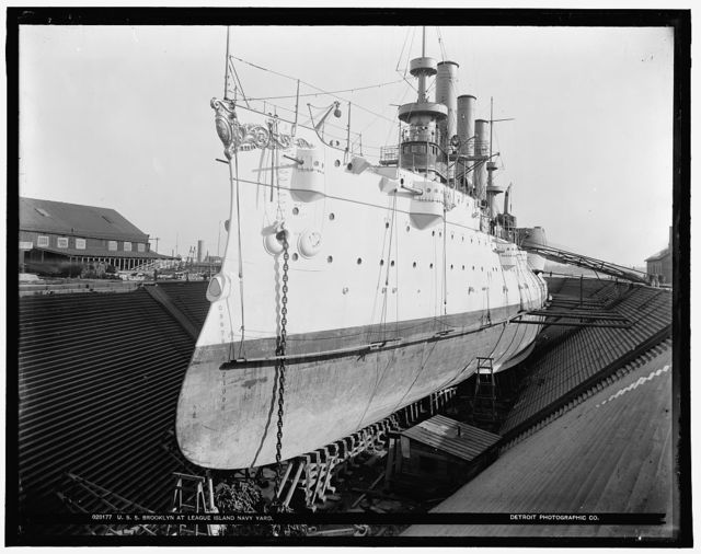 U.S.S. Brooklyn at League Island Navy Yard