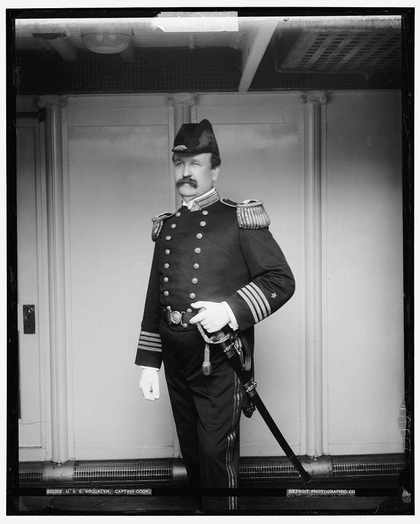 U.S.S. Brooklyn, Captain Cook