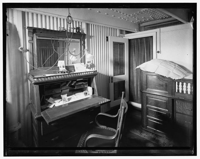 [U.S.S. Brooklyn, engineer's office]