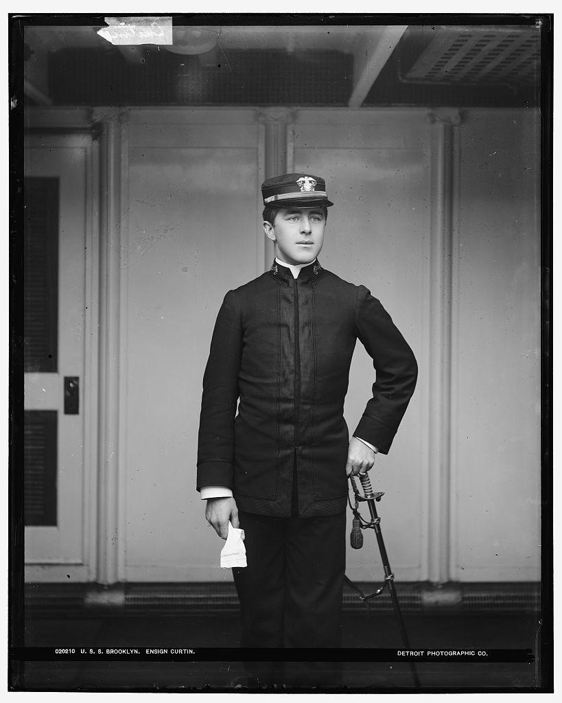 U.S.S. Brooklyn, Ensign Curtin