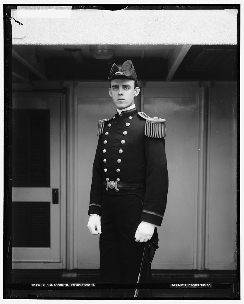 U.S.S. Brooklyn, Ensign Proctor