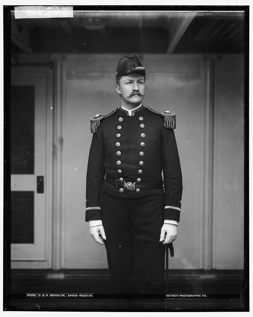 U.S.S. Brooklyn, Ensign Webster