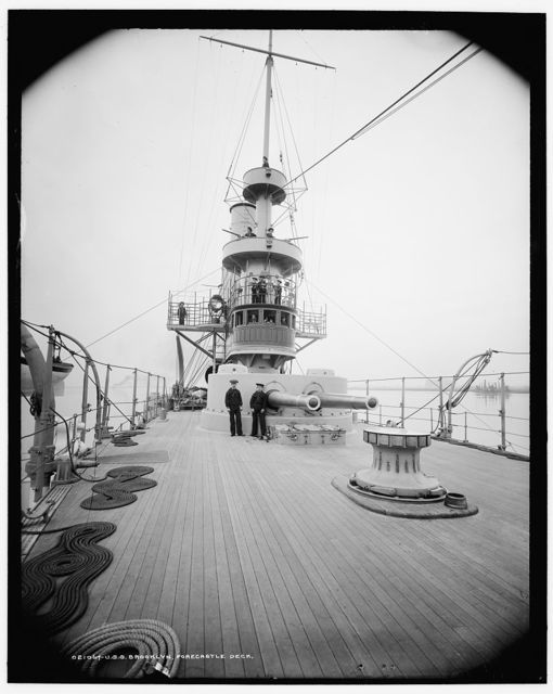 U.S.S. Brooklyn, forecastle deck