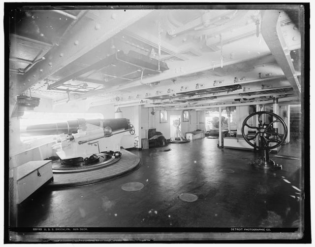 U.S.S. Brooklyn, gundeck