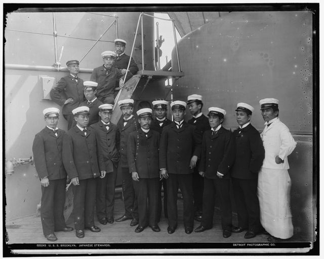 U.S.S. Brooklyn, Japanese stewards
