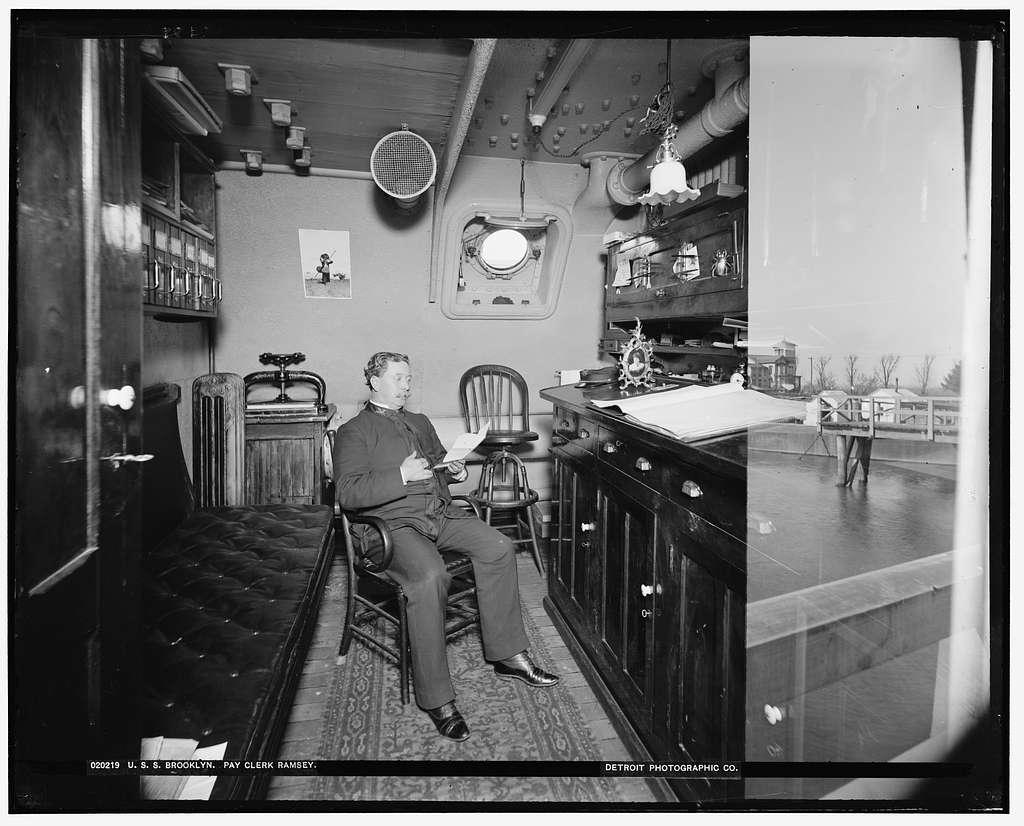 U.S.S. Brooklyn, pay clerk Ramsey