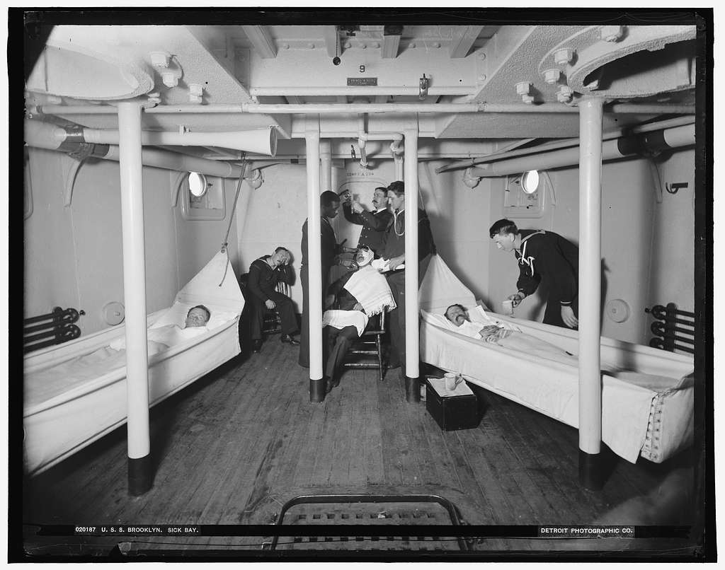 U.S.S. Brooklyn sick bay