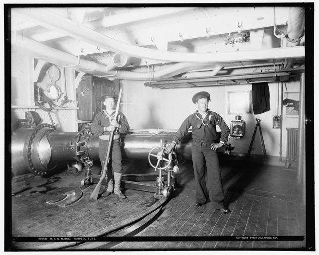 U.S.S. Maine, torpedo tube