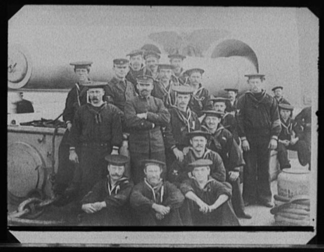 U.S.S. Massachusetts, gunner's gang