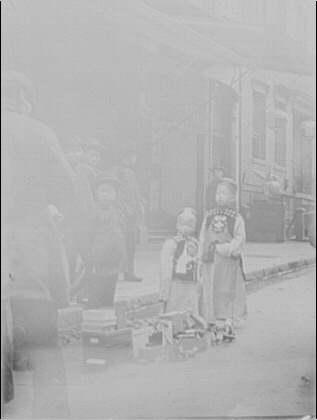 Young aristocrats, Chinatown, San Francisco