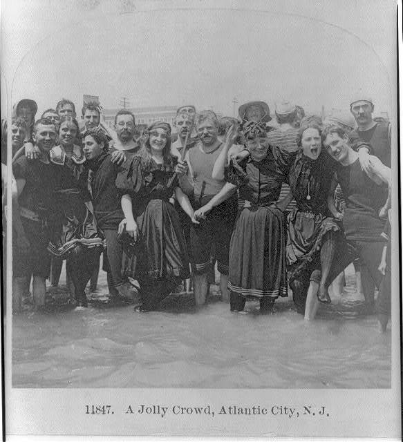 A jolly crowd, Atlantic City, N.J.