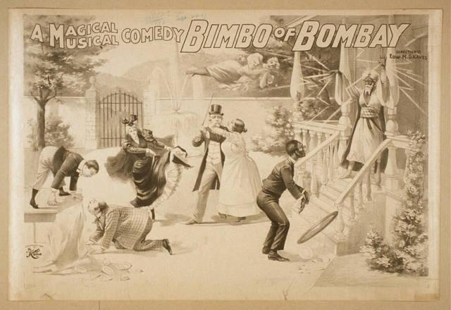 A magical musical comedy, Bimbo of Bombay