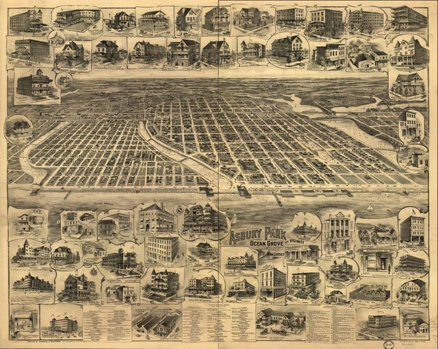Asbury Park, Ocean Grove and vicinity, New Jersey 1897.