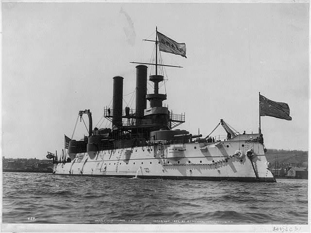 Battleship IOWA, U.S.N.