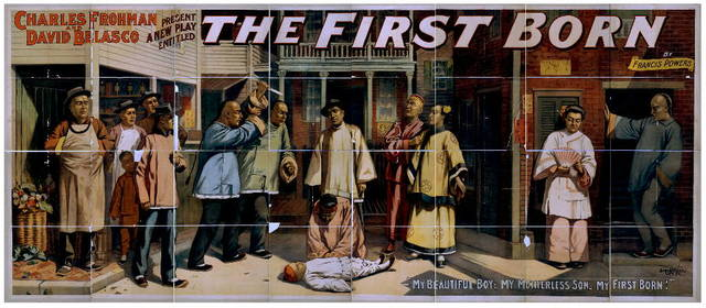 Charles Frohman and David Belasco present a new play entitled, The first born by Francis Powers.