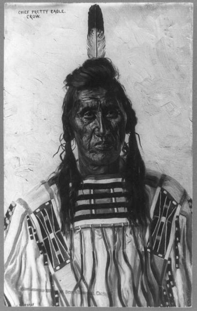 Chief Pretty Eagle, Crow