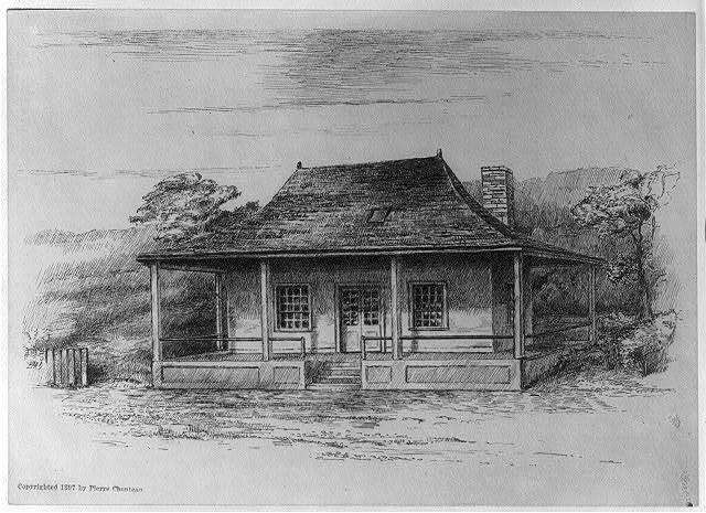 [Early scenes of Missouri Territory, 180-]: Manuel Lisa House
