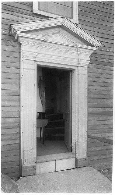 Entrance to Cottage of John & Abigail Adams