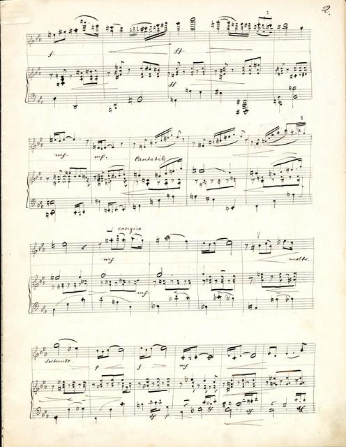 Fantaisie p[ou]r violon et piano