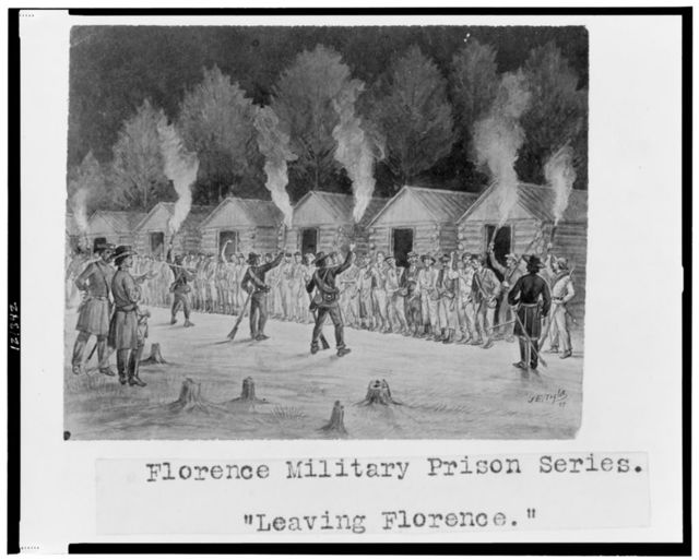 "Florence military prison series--""Leaving Florence"" / J.E. Taylor."