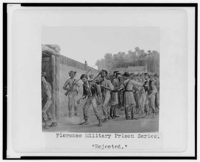 "Florence military prison series--""Rejected"" / J.E. Taylor."