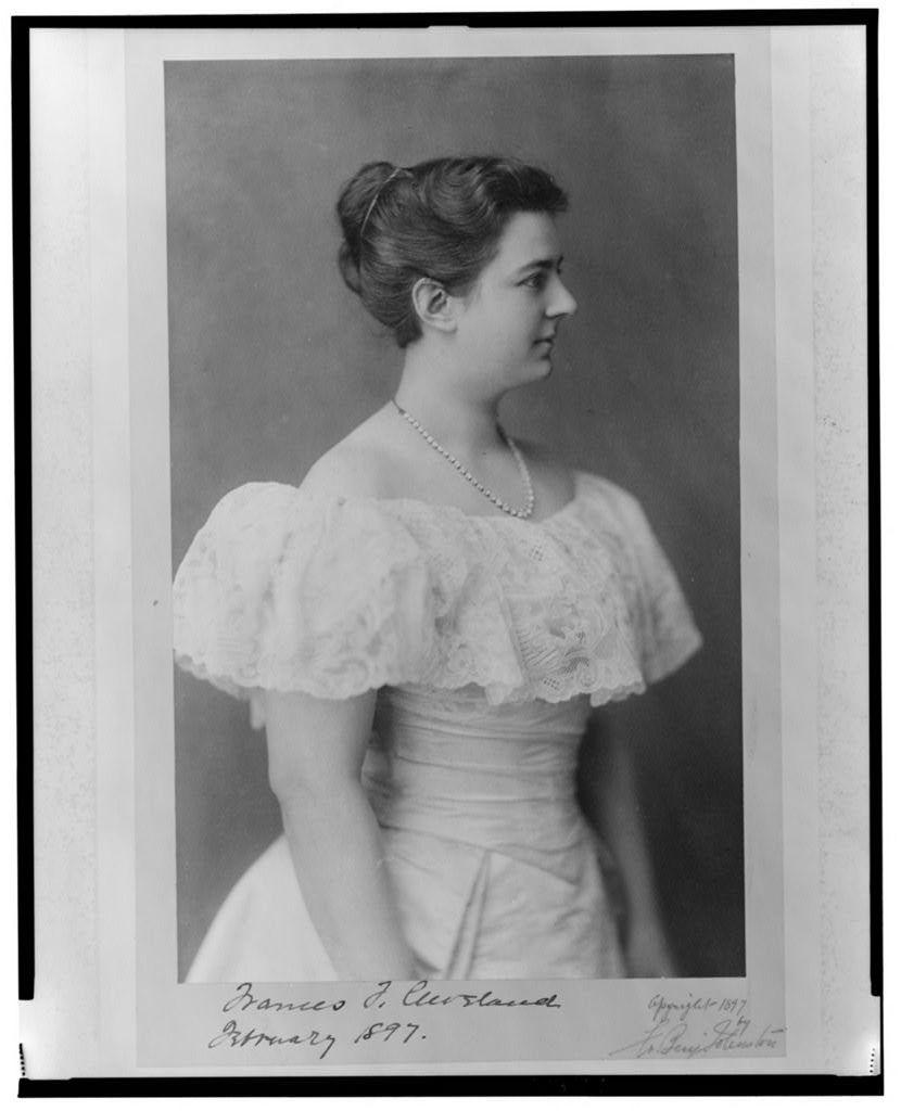 Frances F. Cleveland, February 1897