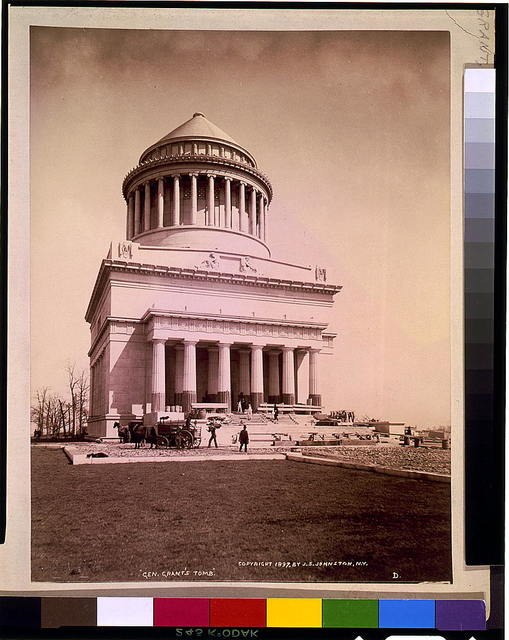 """Gen. Grant's tomb"" / J.S. Johnston, View & Marine Photo, N.Y."