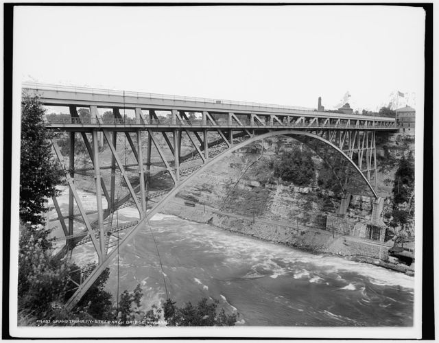 Grand Trunk Ry. Steel Arch [i.e. Whirlpool Rapids] Bridge, Niagara