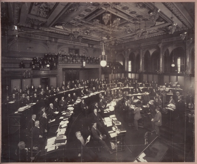Illinois Senate in session, 40 General Assembly, May 6, 1897
