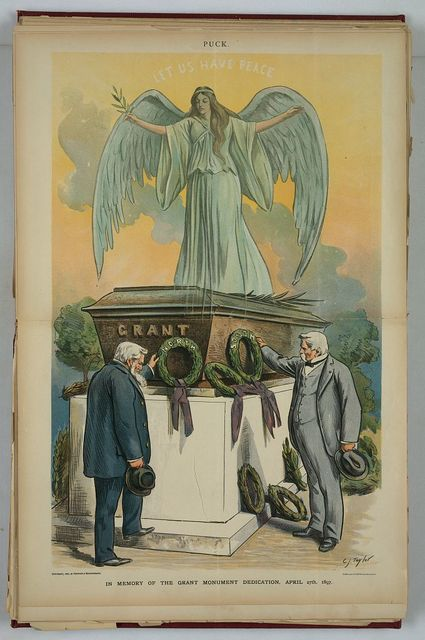 In memory of the Grant monument dedication, April 27th, 1897 / C.J. Taylor.