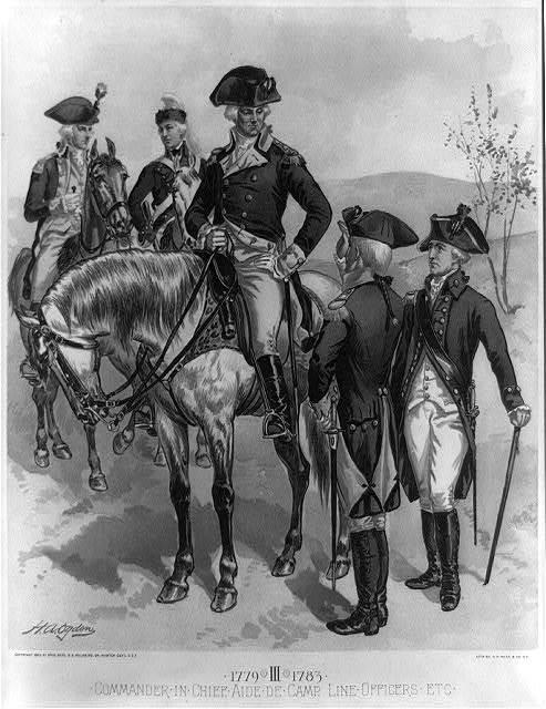 Infantry: Continental Army, 1779-1783, IV / H.A. Ogden ; lith. by G.H. Buek & Co., N.Y.