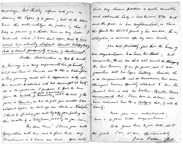 Letter from Alexander Melville Bell to Alexander Graham Bell and Mabel Hubbard Bell, October 11, 1897