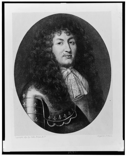 [Louis XIV, King of France, head-and-shoulders portrait, facing slightly right, wearing armor] / Goupil & Co., Paris.