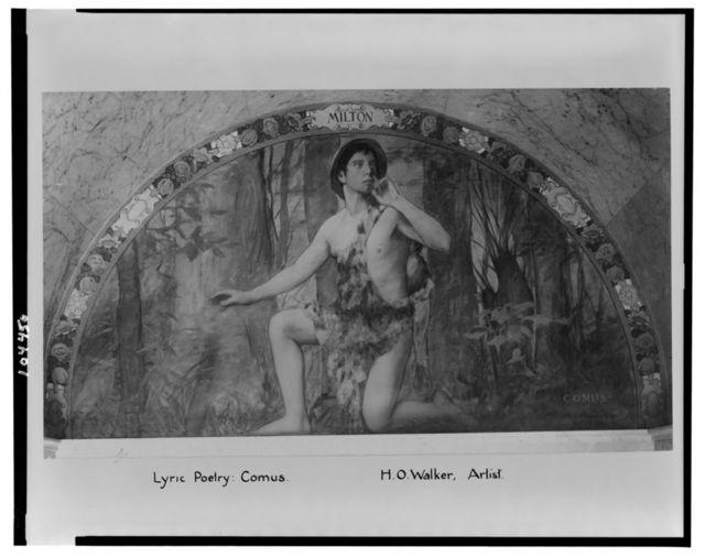 Lyric poetry, Comus / H.O. Walker, artist.