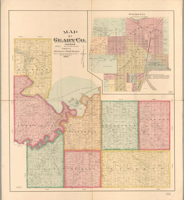 Map of Geary Co., Kansas /