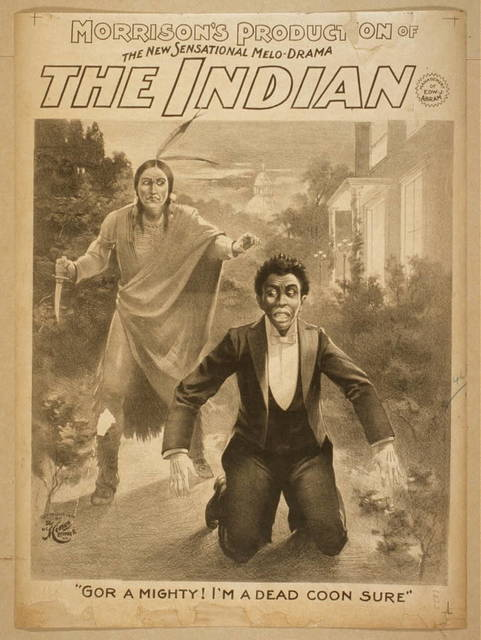 Morrision's production of the new sensational melo-drama, The Indian
