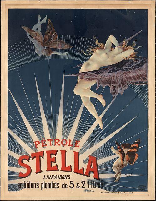 Pétrole Stella, livraisons en bidons plombés de 5 & 2 litres / H. Gray.