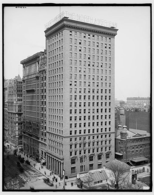 [Philadelphia, Pa., the North American and Real Estate Trust Bldgs.]