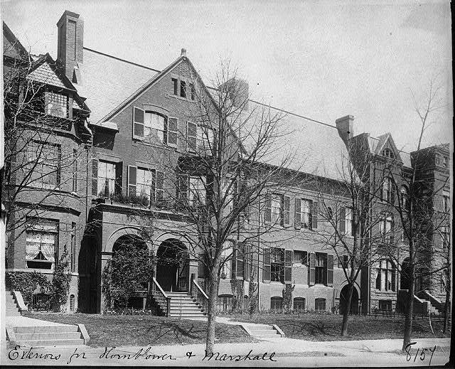Sen. John Sherman's house, Mass. Ave. near 17th St., N.W.