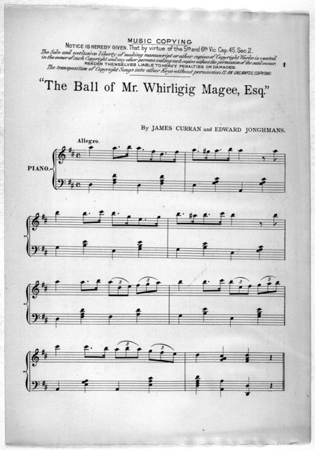 The  ball of Mr. Whirligig Magee, esq.