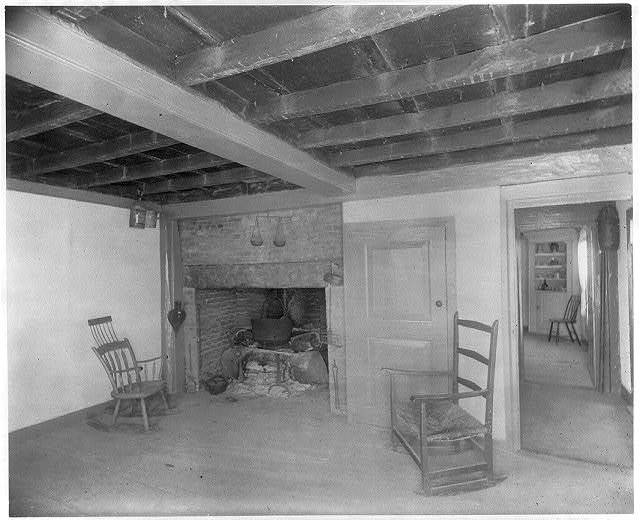 The Old Kitchen in Cottage of John & Abigail Adams