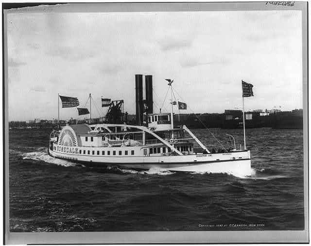 The steamboat ROSEDALE