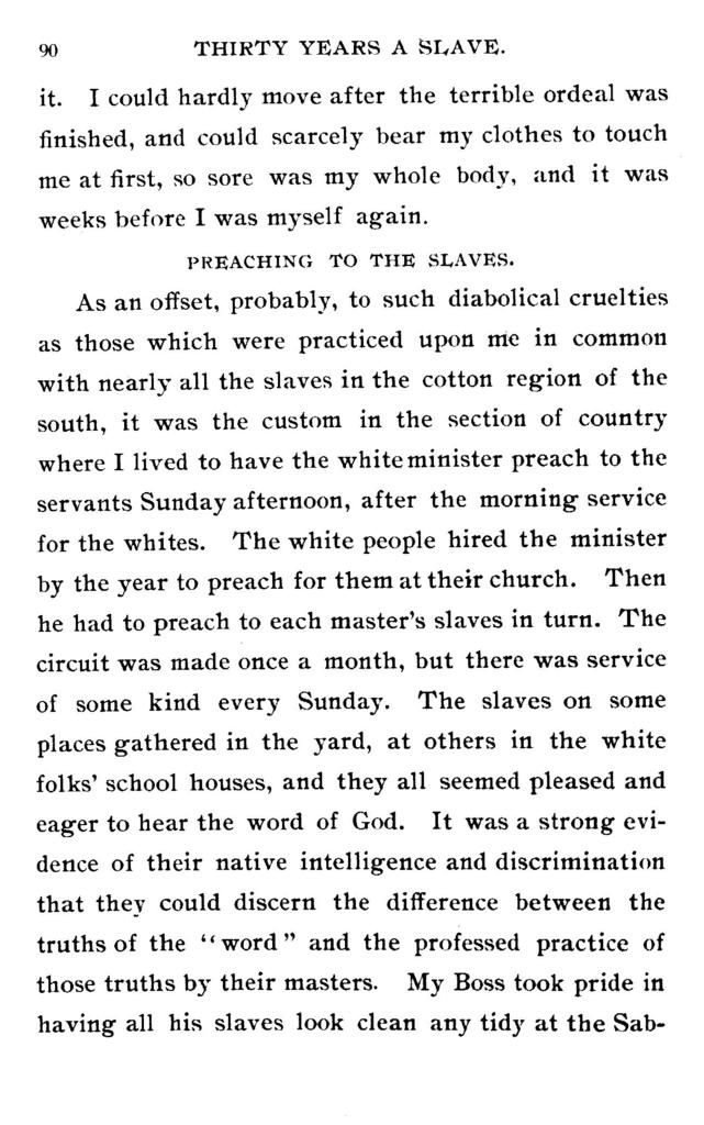 Thirty years a slave. From bondage to freedom. The institution of slavery as seen on the plantation and in the home of the planter. Autobiography of Louis Hughes.