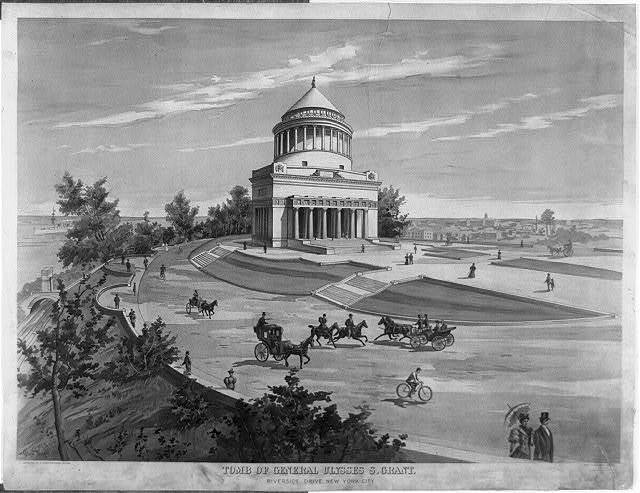 Tomb of General Ulysses S. Grant, Riverside Drive, New York City / Grant Wright, 1897.