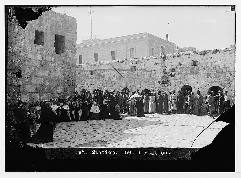1st Station [of the Cross], Jerusalem