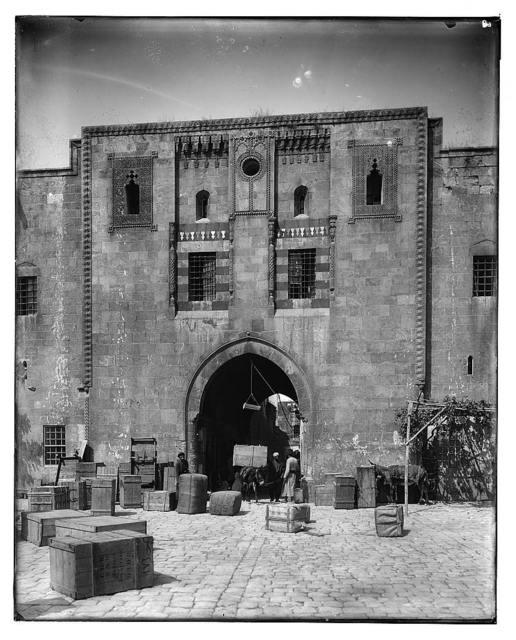 Aleppo. Khan el-Vezir