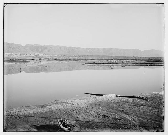 Around the Dead Sea (Bahr Lut). Mountain Range between 'Ain Jiddy and Masada