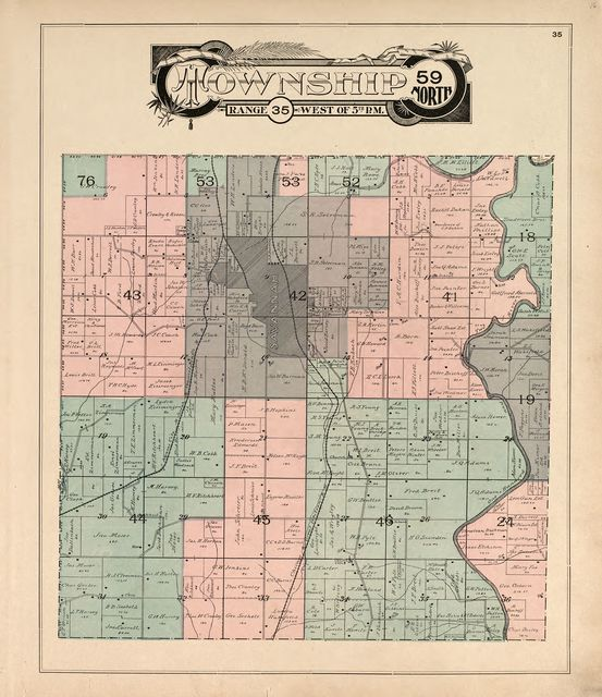 Atlas of Andrew County, Missouri : including plats of the villiages [sic], cities and townships of the county, a map of the state and of the United States, patrons' directory, together with an analysis of the system of U.S. land surveys.