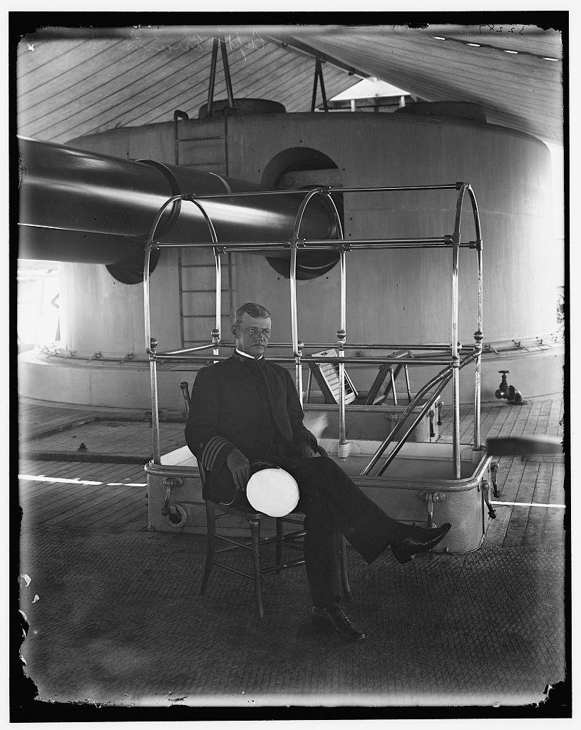 Capt. Evans, [U.S.S.] Iowa