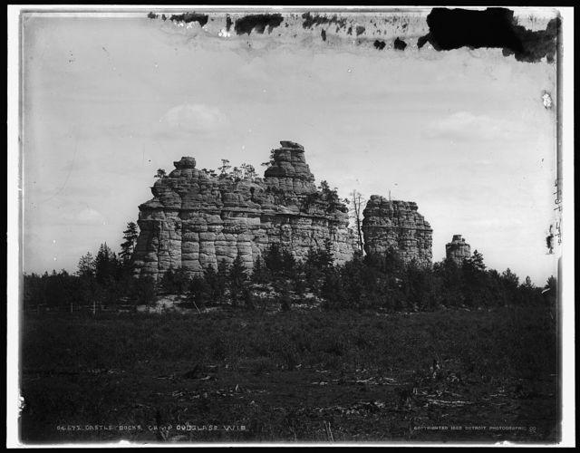 Castle rocks, Camp Douglass [sic], Wis.
